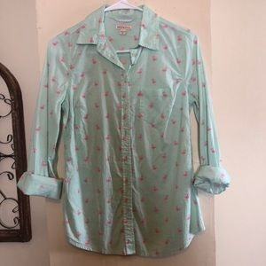 Flamingo Shirt NWOT